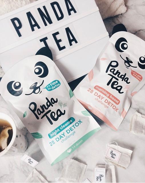 Instant bien-être avec la cure de thé Detox PandaTea